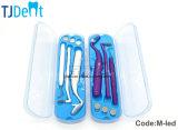 손잡이 Anti-Fog LED Intraoral 입 미러 이 Hook&Molar 이 (M-LED)를 가진 치과 경구 배려 장비