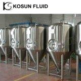 500L 1000 galones de acero inoxidable Industrial vinagre vino luminoso el precio de la cerveza fermentador cónico de la cuba de fermentación en venta