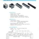 180 Grau rj11 Tomada de PCB com portas 1X2