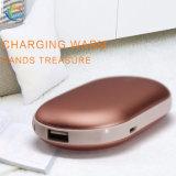 Eléctrico USB Multifunción 5000mAh mano cálida Banco de potencia