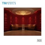 火の補強のポリエステル線維の壁パネルのための内部の装飾的な3D吸音力のボード