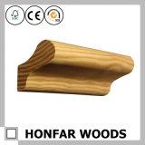 Escalier en bois solide de matériau de construction clôturant la balustrade d'escalier