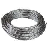 6X12+7FC galvanisé et acier lubrifiés Ungalvanized Wire Rope
