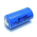 3.6V 1200mAh Ltihium 14250 Cilindrische Batterij