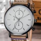 Logotipo personalizado mujer reloj de cuarzo Relojes de Pulsera de moda para señoras (WY-17013D)