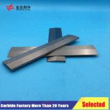 Tiras de carburo de tungsteno para herramientas de corte