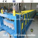 Lo strato caldo di Decking di profilo del metallo di vendita laminato a freddo la formazione della macchina