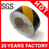 Riga nera gialla nastro d'avvertimento del PVC (YST-FT-002)