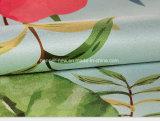 Couvre-tapis de yoga de tissu de suède estampé par coutume