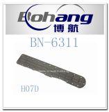 Bonaiエンジンの予備品のHino H07DオイルクーラーカバーBn.6311