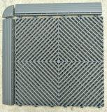 Ребро жесткости пола плиткой и хорошее качество гараж взаимосвязанных PP пластиковые плитками на полу