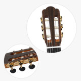 A extremidade alta Top duplo Vintage artesanal guitarra clássica sólido