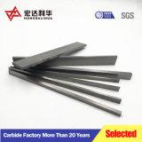 Yg6/Yg8 carboneto de tungsténio a barra chata, tiras de carboneto de tungsténio