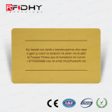 Fabricado na China MIFARE (R) 4K Cartão de papel de RFID para pagamento de bilhete