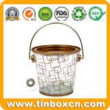 Настраиваемые прозрачный ПВХ металлического олова ковша для печенья упаковки продуктов питания
