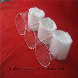 Borde del vidrio de cuarzo del claro de la pureza elevada