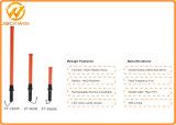 경찰을%s 플라스틱 안전 LED 소통량 배턴 재충전용 배턴