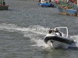 7.5mのガラス繊維の堅く膨脹可能なボートの哨戒艇の救助艇