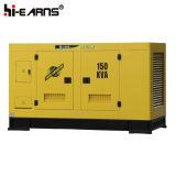 Water-Cooled générateur diesel silencieux de la canopée (GF2-150kVA)
