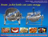 Bouilloire de fusion de sucre en acier inoxydable pour l'alimentation