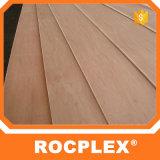 Madera contrachapada plástica de Rocplex, fabricación/fábrica, madera contrachapada marina antirresbaladiza de 18m m
