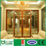 Porte coulissante en aluminium de modèle de gril de Pnoc080308ls avec le bon prix