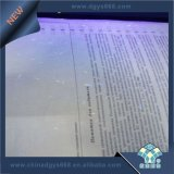 La ligne document papier de sûreté de garantie conçoivent l'impression en fonction du client