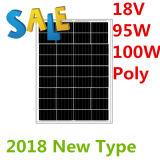 painel solar da E-Bicicleta de 18V 105W-110W
