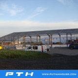 Usine préfabriquée de structure métallique de Chambres de coût bas en Chine avec la bonne production