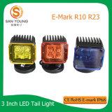La E contrassegna 16W indicatori luminosi del lavoro del CREE del cubo da 3 pollici per l'alto lumen dei trattori