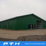 Fábrica prefabricada de la estructura de acero de las casas del bajo costo en China con la buena producción