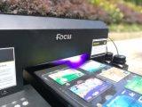 Stampante a base piatta UV di piccolo formato di alta qualità