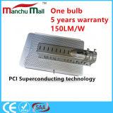 IP67 180W im Freien PFEILER LED Straßenlaternemit 5 Jahren Garantie-