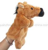 Jouet en peluche OEM animal en peluche de marionnettes à main