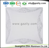 Qualitäts-Baumaterial-Geld-geformte Aluminiumpanel-Decken-Fliese