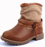 Venda por grosso de tornozelo personalizar as crianças crianças sapatos de Inverno Meninas Boot
