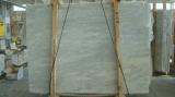 Mugla白いCalaciteの縞の大理石の平板のタイル