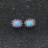 925 de zilveren Oorring van de Nagel van de Juwelen van de Manier Opalen (561713032106)