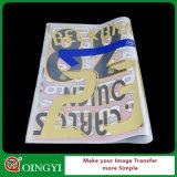 Etiqueta engomada al por mayor del traspaso térmico de Qingyi para Texitle