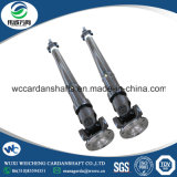La transmisión de potencia industrial de piezas SWC el eje de transmisión