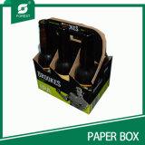 Pack de 6 bouteille de vin bière Boîte en carton avec une forte qualité