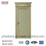 Porte en bois confortable de modèle moderne avec la couleur facultative