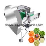 Frutas vegetais multifuncional cortador com pedal de corte do picador máquina de processamento