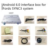 포드 초점 Sync 3 영상 공용영역 미러 링크 Waze Yandex를 위한 인조 인간 6.0 GPS 항법 상자