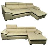 Hot vender mejor Quality Hotel Lobby muebles sofá de cuero (A80)
