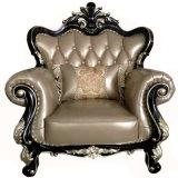 Nueva llegada China Royal tejido muebles sofá (1212-1)