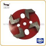 4 Teethes boa para placas de moagem moinho de piso, polir