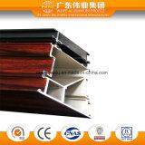 Perfil de alumínio da extrusão da isolação térmica de baixo preço para o indicador