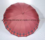 雨、高品質のまっすぐな傘の自動車のための素晴らしい傘。 開いた