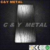 Strato di goffratura decorativo dell'acciaio inossidabile 304 con i colori Ti-Neri